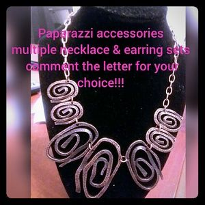 paparazzi necklace and earring sets... your choice